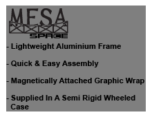 MESA Pop Up Counter
