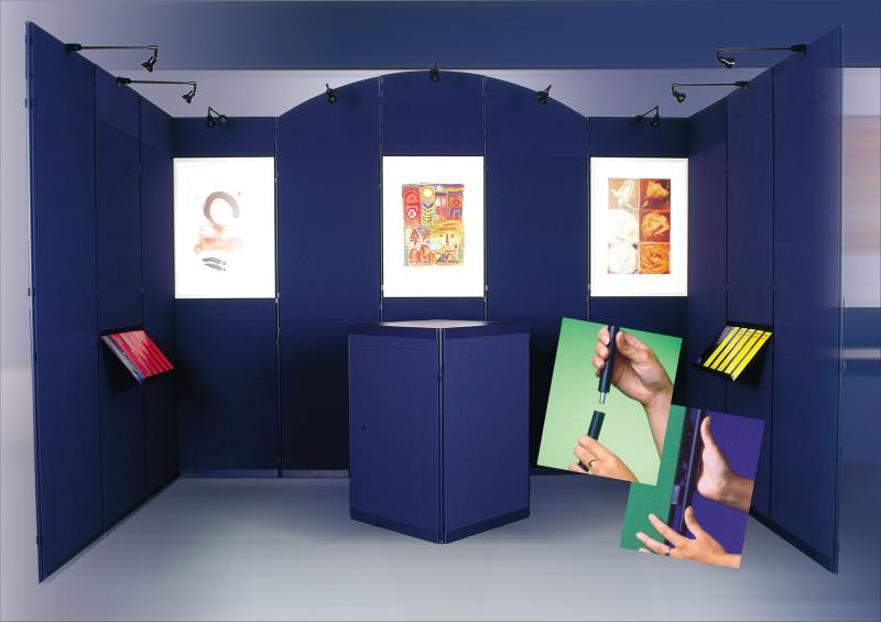 Exhibition Display Panels : Clip display panel panel system products display banner