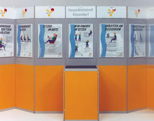Portable Exhibition Board : Poster portable display exhibition board roll up banner roll